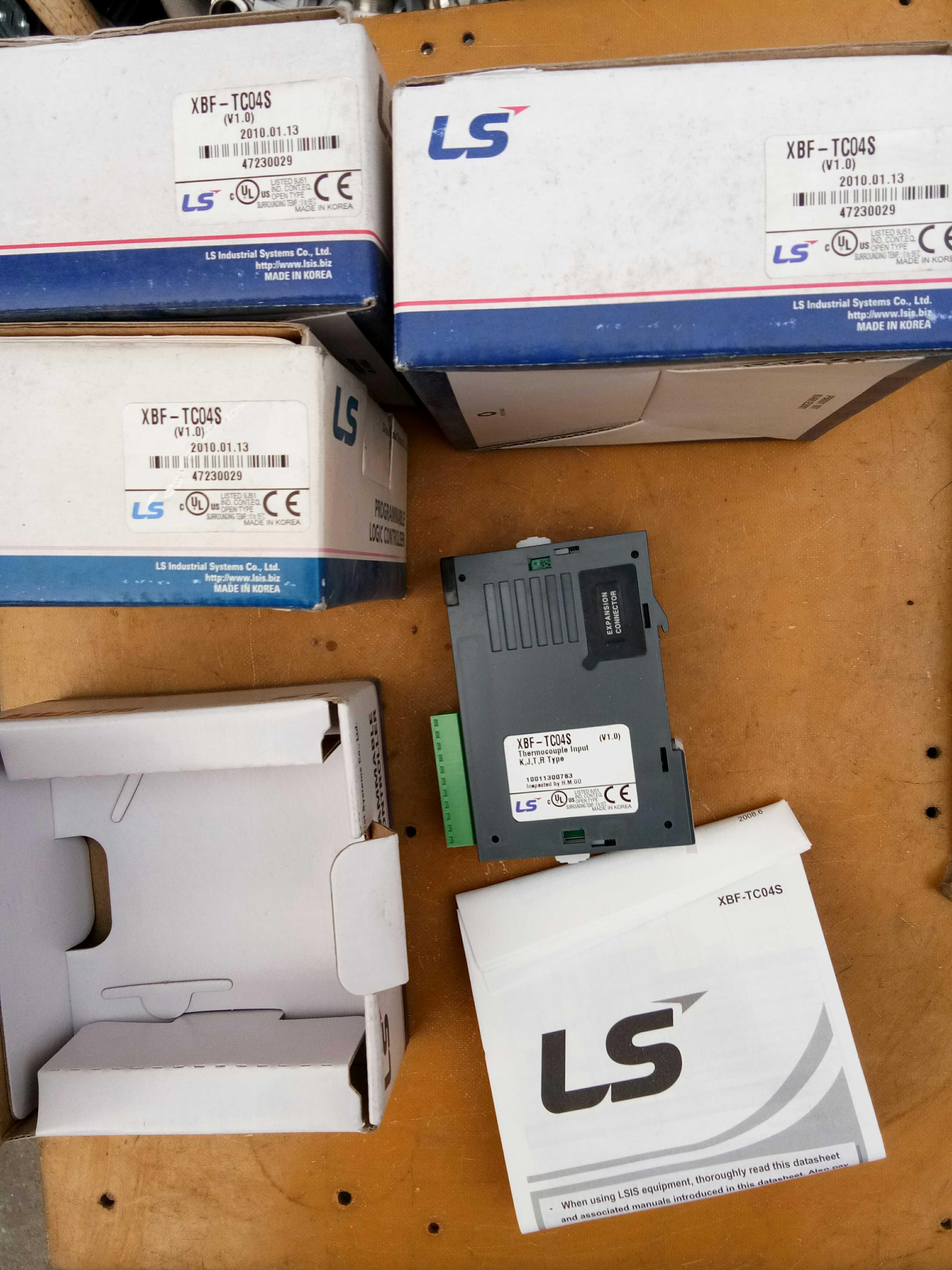 LG LS PLC MODULE XBF-TC04S