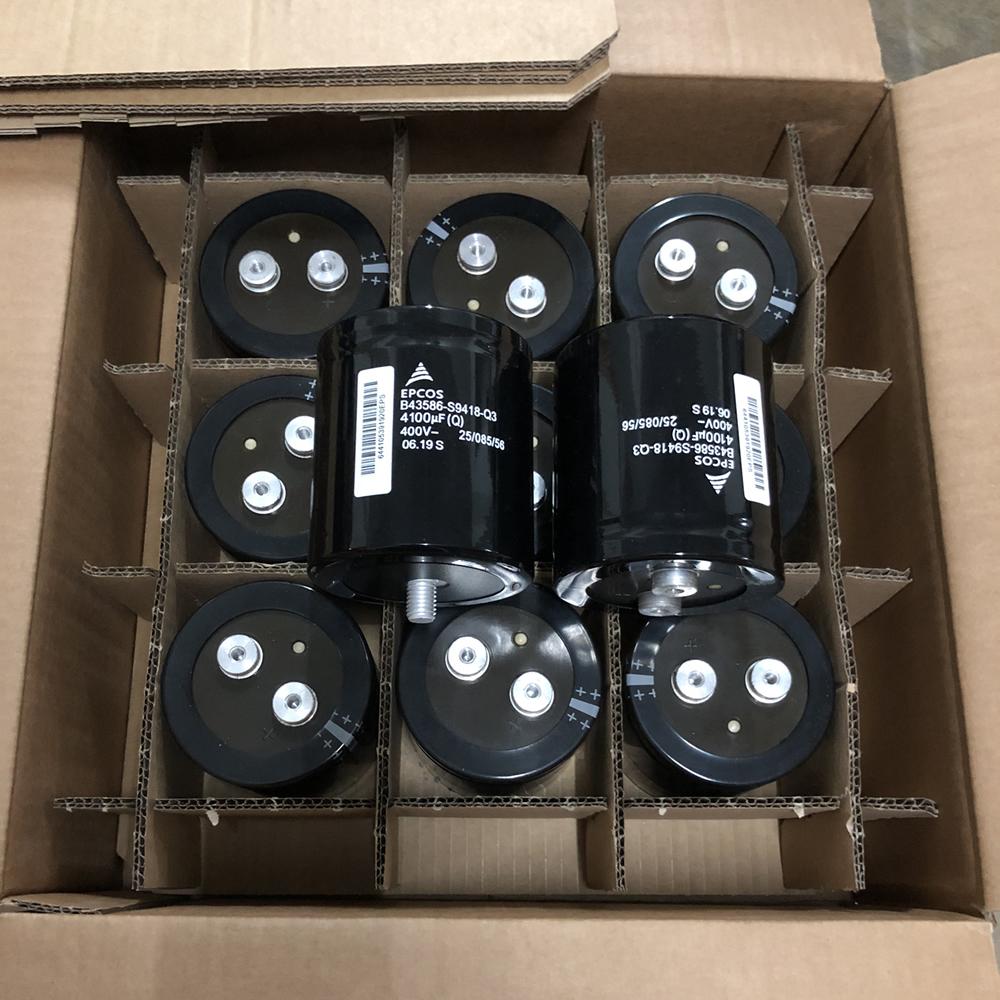 B43586-S9418-Q3 4100uf 400v EPCOS capacitor for ABB inverter
